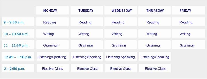 Sample High School Class Schedule Unique High School Class Schedule Examples Springfield School