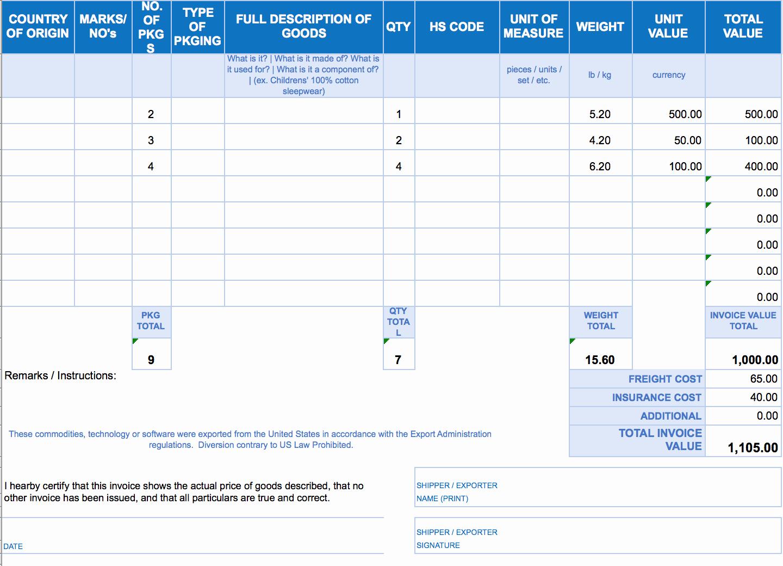 Sample Invoice format In Excel Luxury Free Excel Invoice Templates Smartsheet