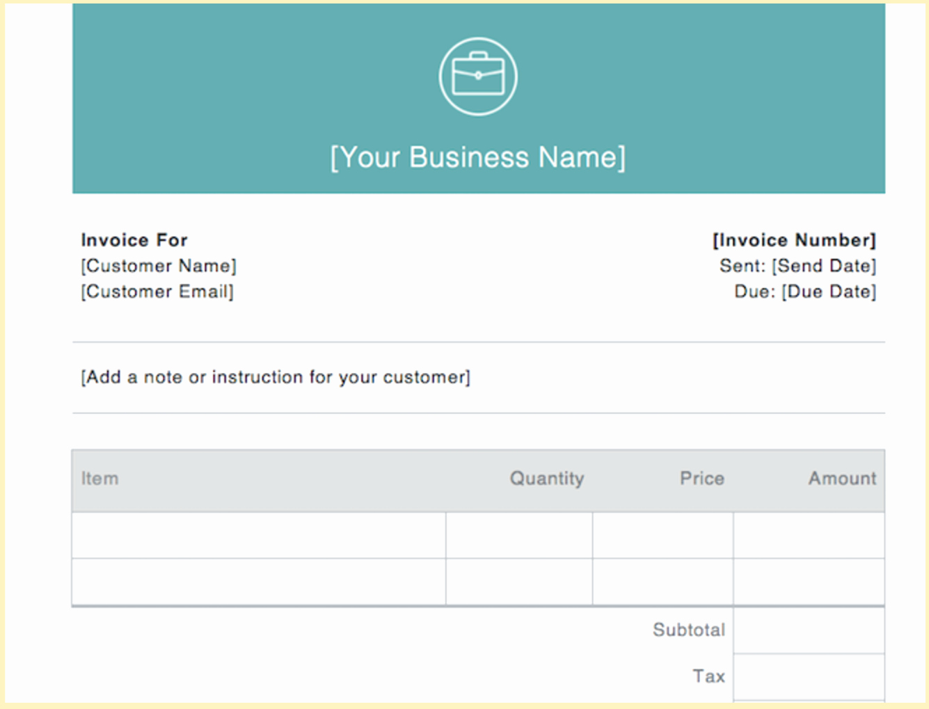 Sample Invoices for Small Business Beautiful Invoice Examples for Every Kind Business Invoice