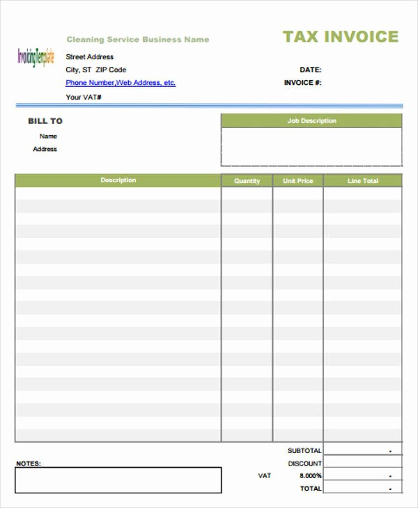 Sample Invoices for Small Business Unique 9 Business Invoice – Free Sample Example format