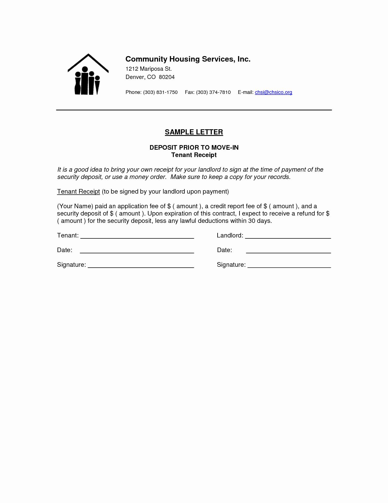 Sample Letter Of Reimbursement Money Beautiful 10 Best Of Deposit Refund Receipt Template