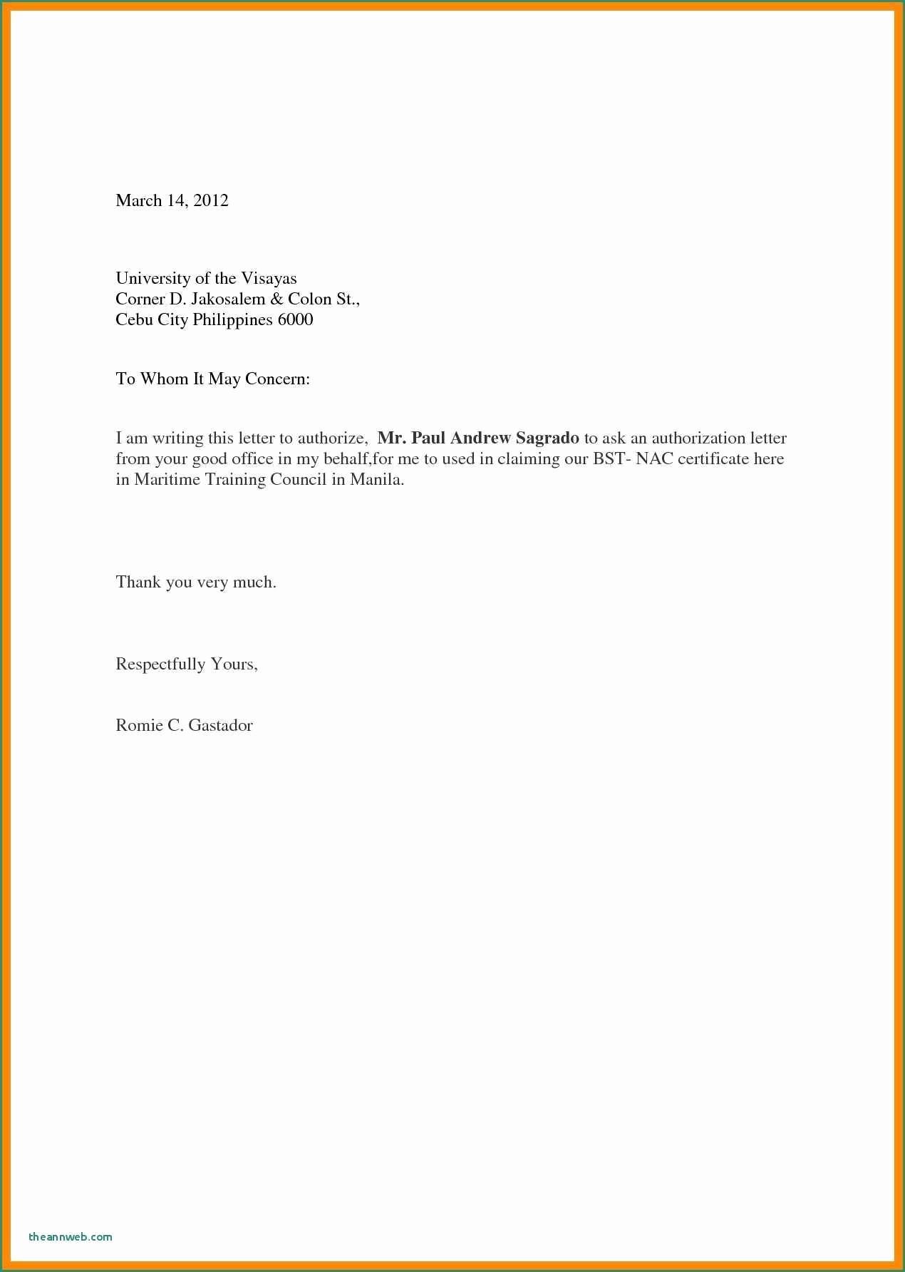 Sample Letter Of Reimbursement Money Inspirational Letter format for Refund Money Free Cover Letter