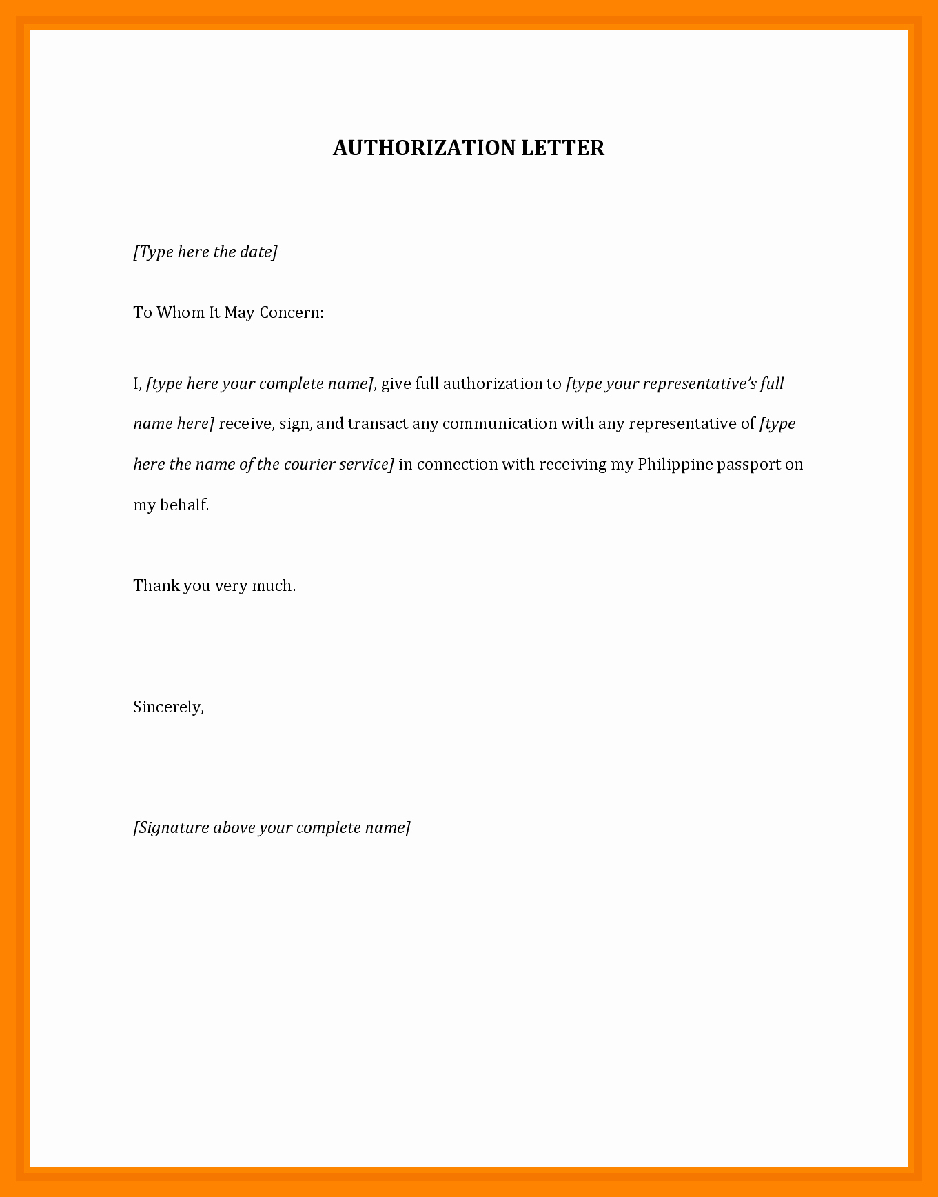 Sample Letter Of Reimbursement Money Luxury 12 Authorization Letter Sample for Claiming Money