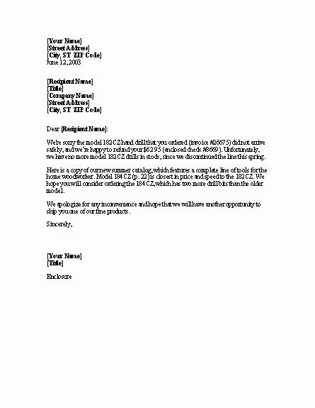 Sample Letter Of Reimbursement Money New Sample Business Letter Request for Refund