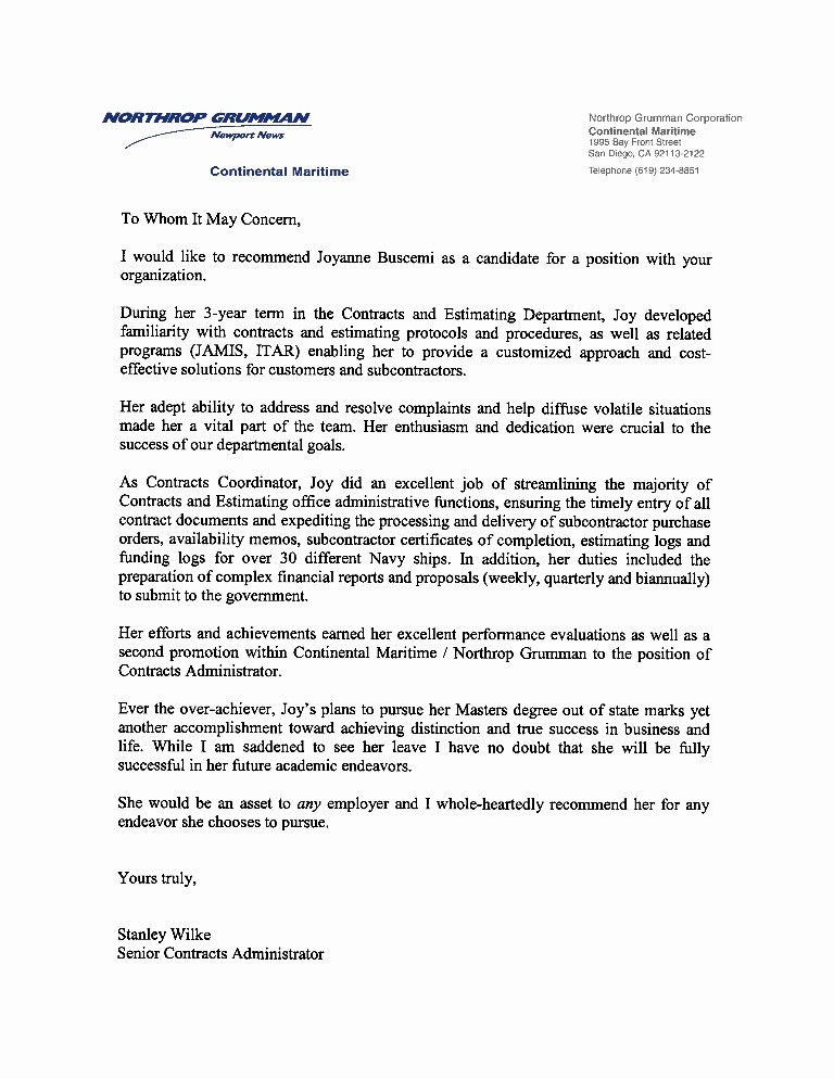Sample Letters Of Recommendation Employee Beautiful Re Mendation Letter Previous Employer
