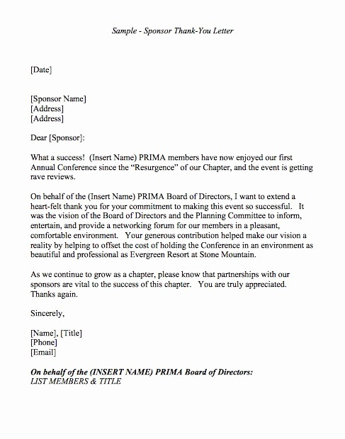 Sample Letters to Board Members Best Of 30 Thank You Letter Templates Scholarship Donation Boss