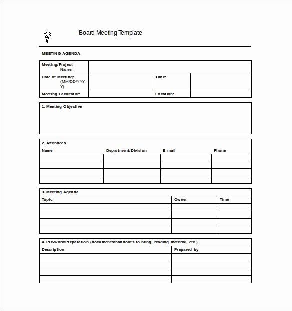 Sample Minute Of Meeting Template Best Of 42 Free Sample Meeting Minutes Templates