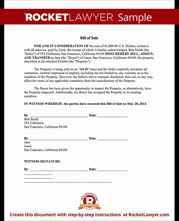 Sample Motorcycle Bill Of Sale Luxury Bill Of Sale form Printable Car & Vehicle Bill Of Sale
