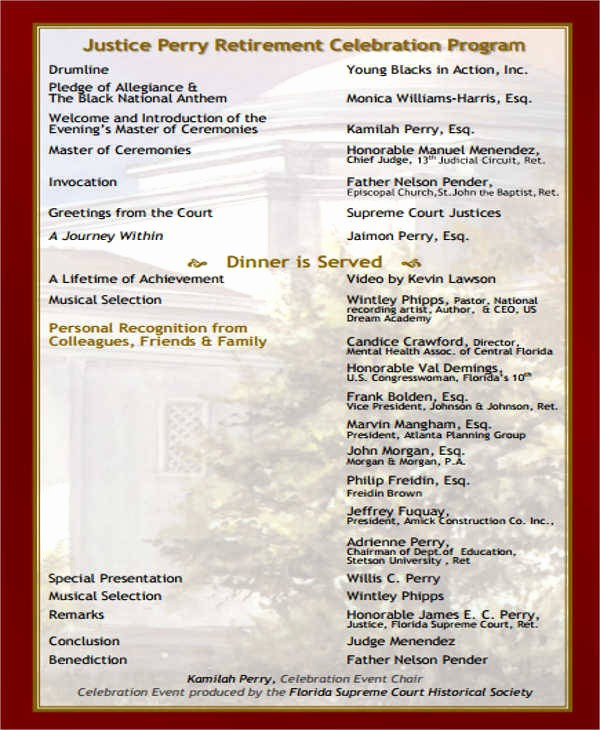 Sample Of A event Program Fresh 21 event Program Samples & Templates