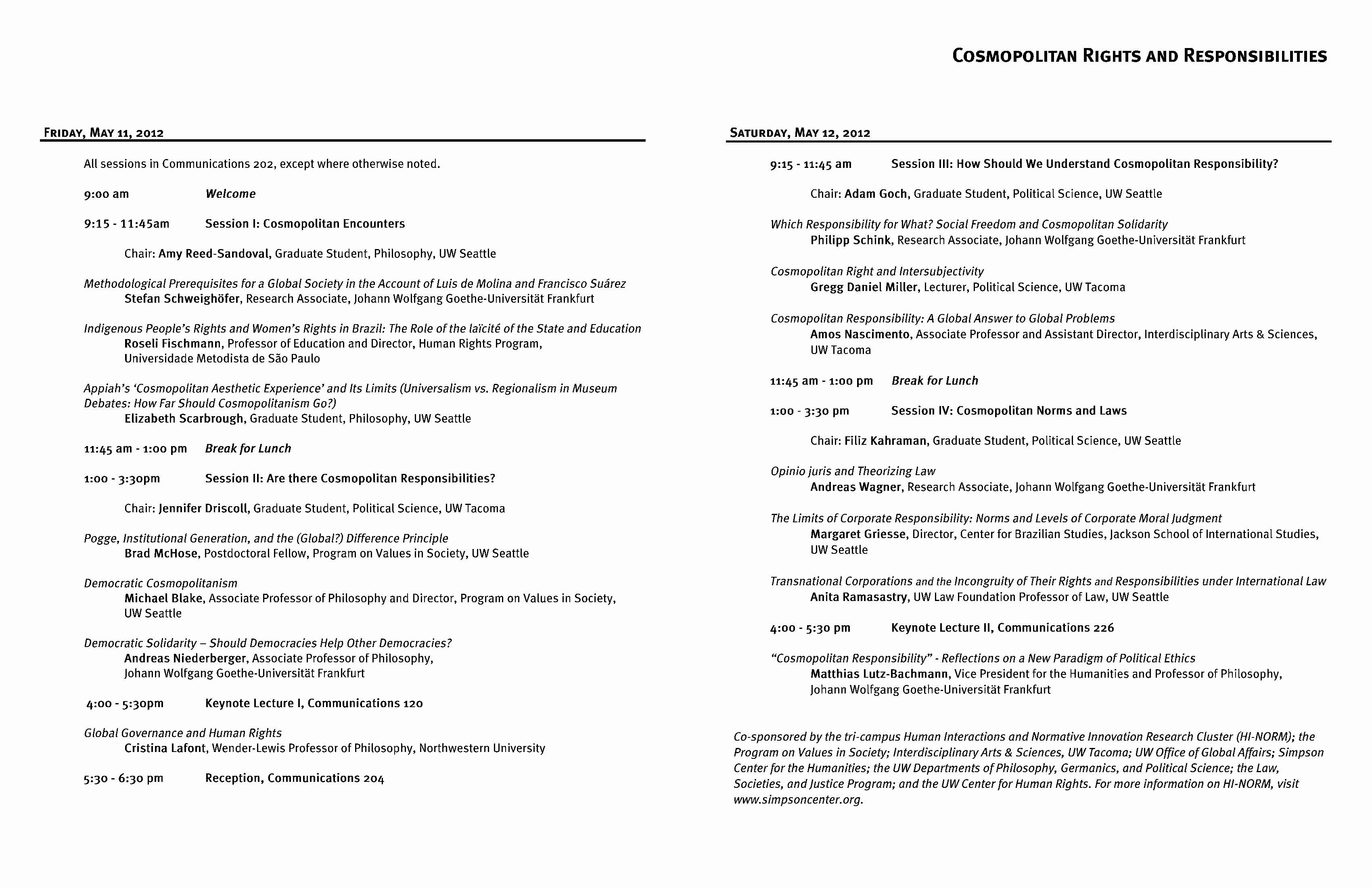Sample Of A event Program Inspirational Conference Programs