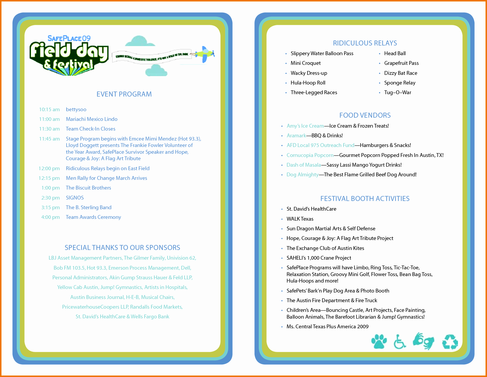 Sample Of A event Program Luxury event Program Template