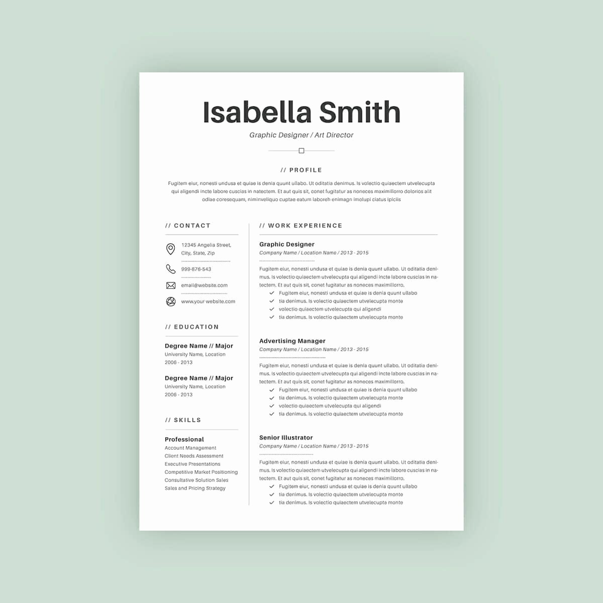 Sample Of A Simple Resume New Great Basic Resumes Basic Resume Template Word