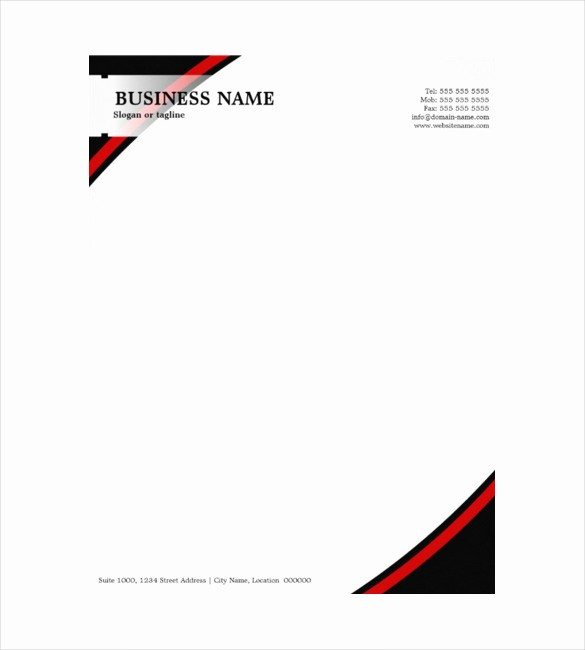 Sample Of Business Letterhead format Awesome 10 Construction Pany Letterhead Templates Free