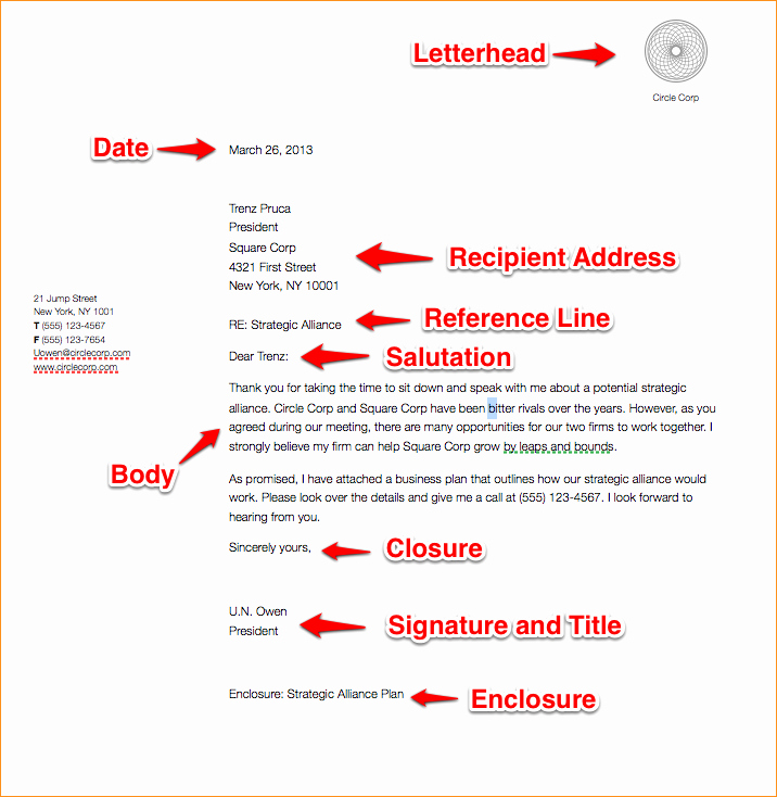 Sample Of Business Letterhead format Best Of A Business Letter format Example Business Proposal