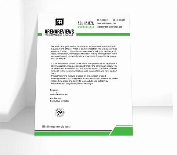 Sample Of Business Letterhead format Elegant 11 Sample Pany Letterhead Templates