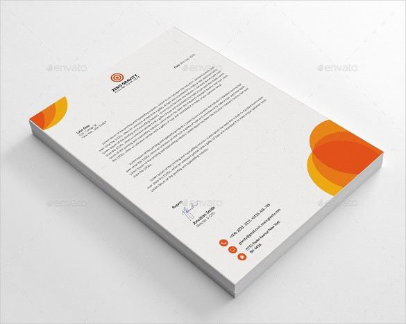 Sample Of Business Letterhead format Fresh 20 Business Letterhead Templates – Free Sample Example