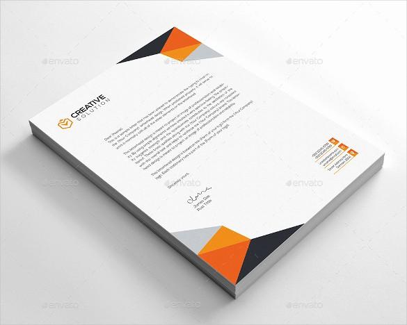 Sample Of Business Letterhead format Fresh 20 Business Letterhead Templates – Free Sample Example
