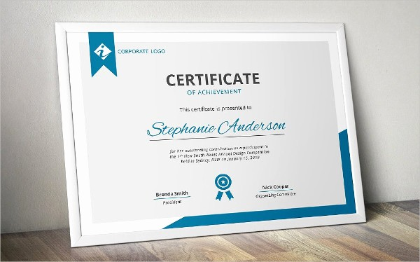 Sample Of Certificate Of Achievement Awesome 7 Achievement Certificates Examples & Samples
