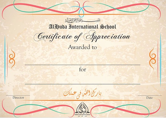 Sample Of Certificate Of Appreciation Fresh 21 Certificate Of Appreciation Templates – Free Samples