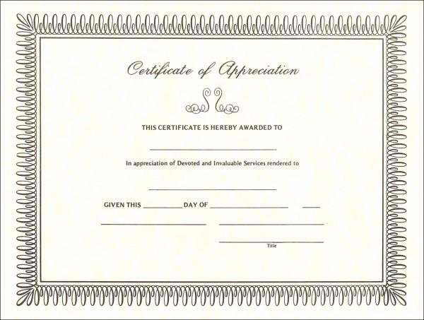 Sample Of Certificate Of Appreciation Fresh Using A Sample Certificate Of Appreciation