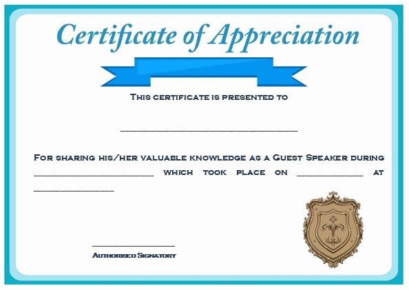 Sample Of Certificate Of Appreciation Luxury 12 Genuine Samples Of Certificate Of Appreciation for