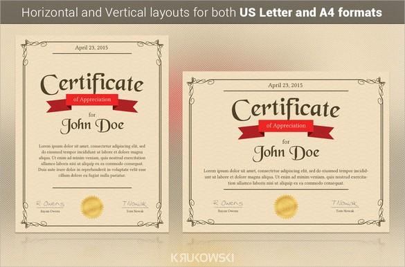 Sample Of Certificate Of Appreciation Luxury 24 Sample Certificate Of Appreciation Temaplates to