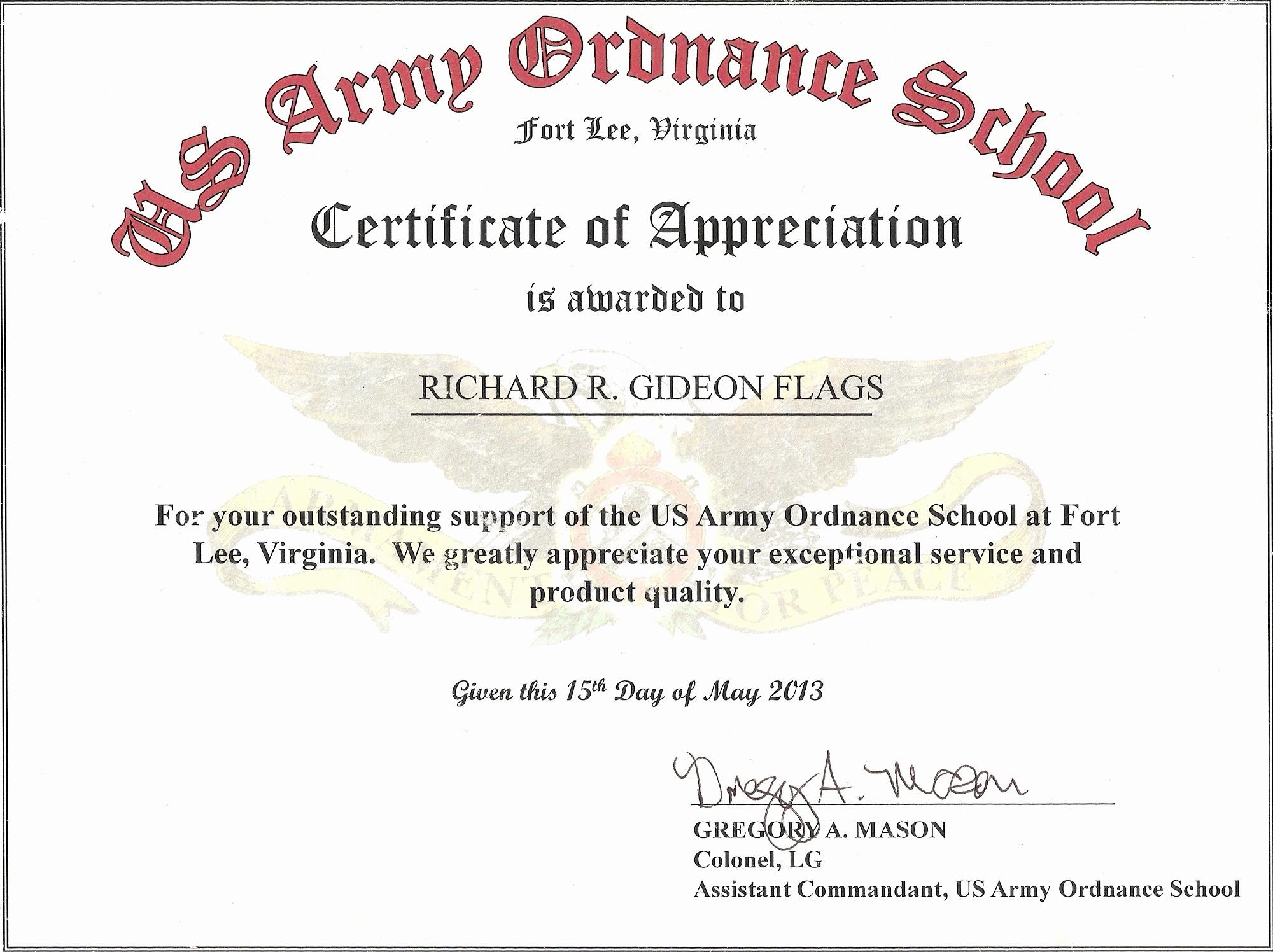 Sample Of Certificate Of Appreciation Luxury Customer Appreciation Letter Samples