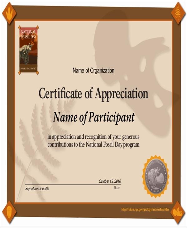 Sample Of Certificates Of Appreciation Elegant 9 Sample Certificates Of Appreciation