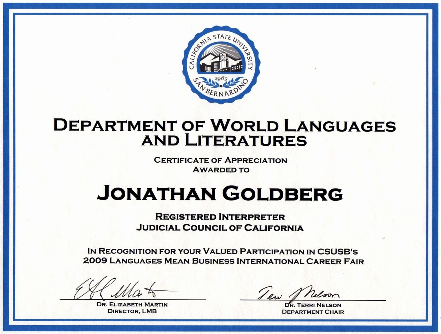 Sample Of Certificates Of Appreciation New Prepositions Recognition for or Of In the Context Of