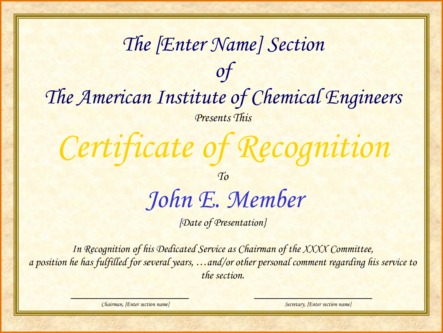 Sample Of Certification Of Appreciation Awesome Certificate Of Appreciation Samplesreference Letters Words