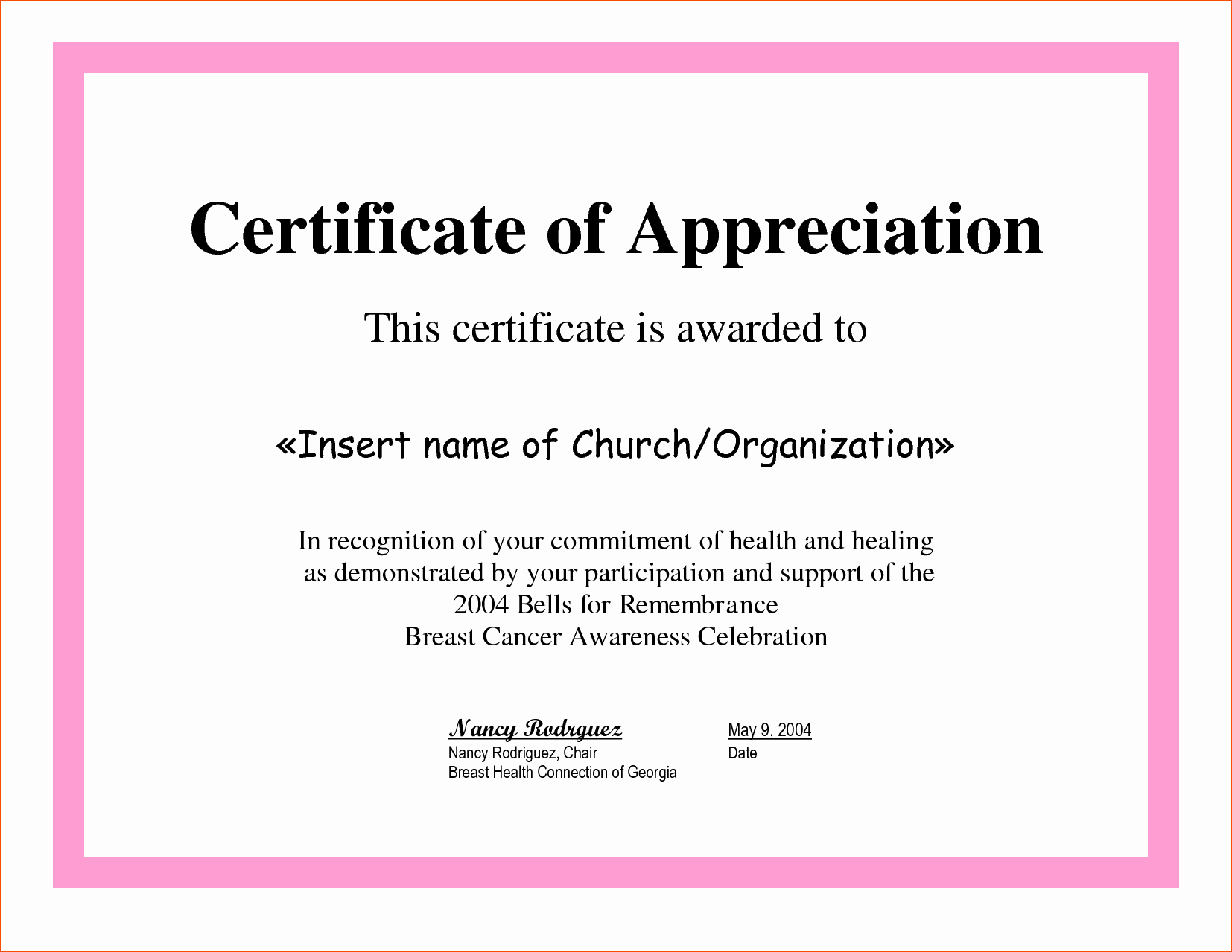 Sample Of Certification Of Appreciation Best Of 8 Certificate Of Appreciation Samples Bookletemplate