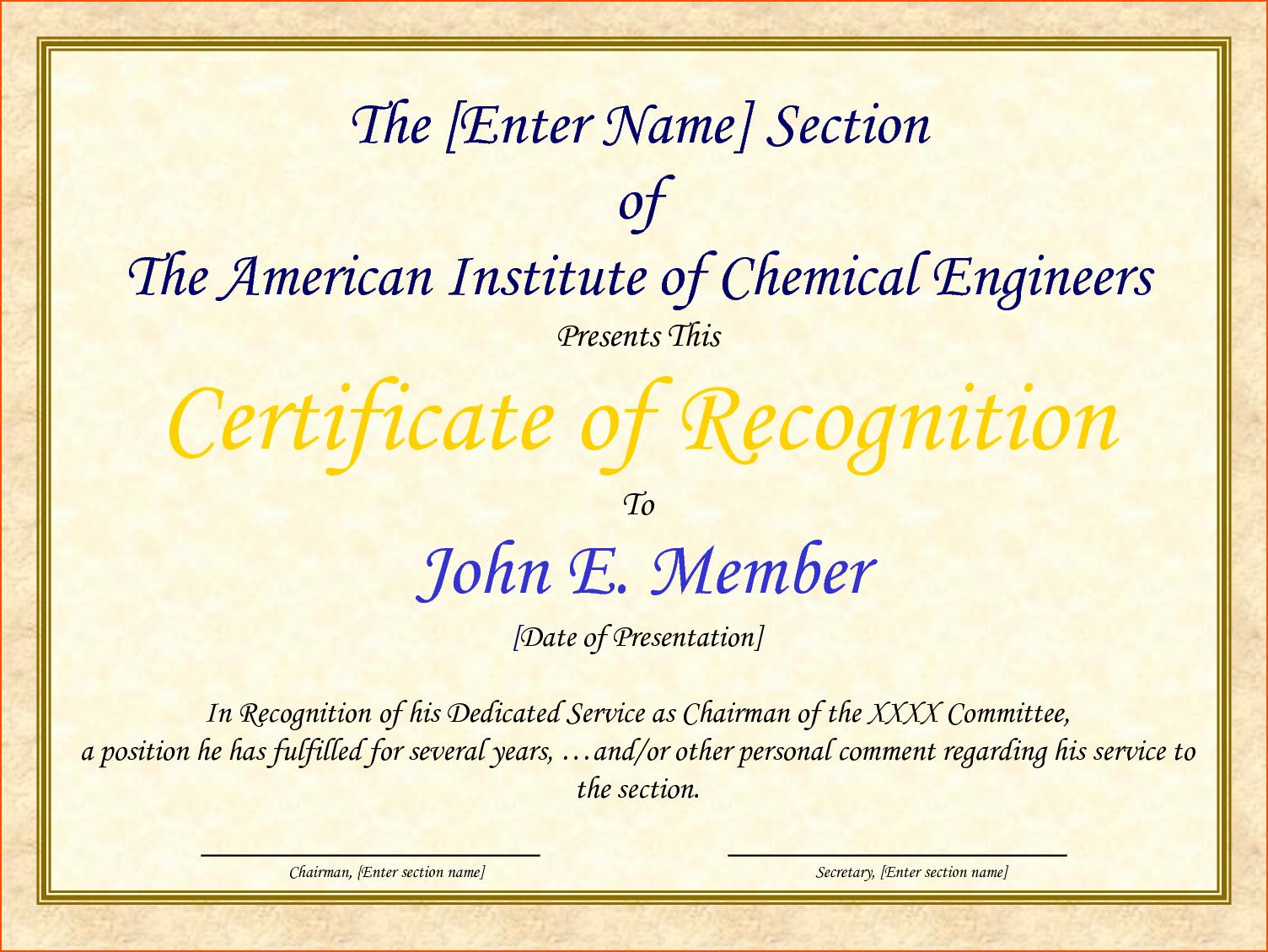 Sample Of Certification Of Appreciation Fresh 8 Certificate Of Appreciation Samples Bookletemplate