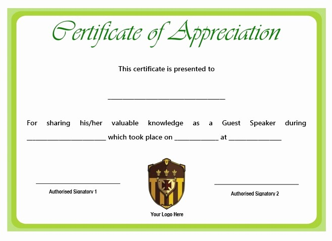 Sample Of Certification Of Appreciation Lovely 12 Genuine Samples Of Certificate Of Appreciation for
