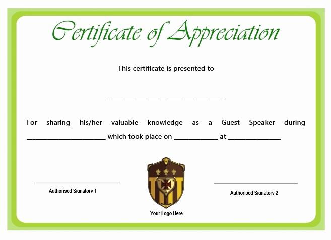 Sample Of Certification Of Appreciation Lovely 12 Genuine Samples Of Certificate Of Appreciation for