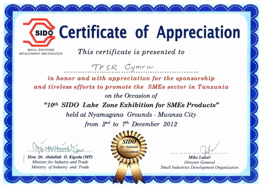 Sample Of Certification Of Appreciation Lovely Appreciation Certificate