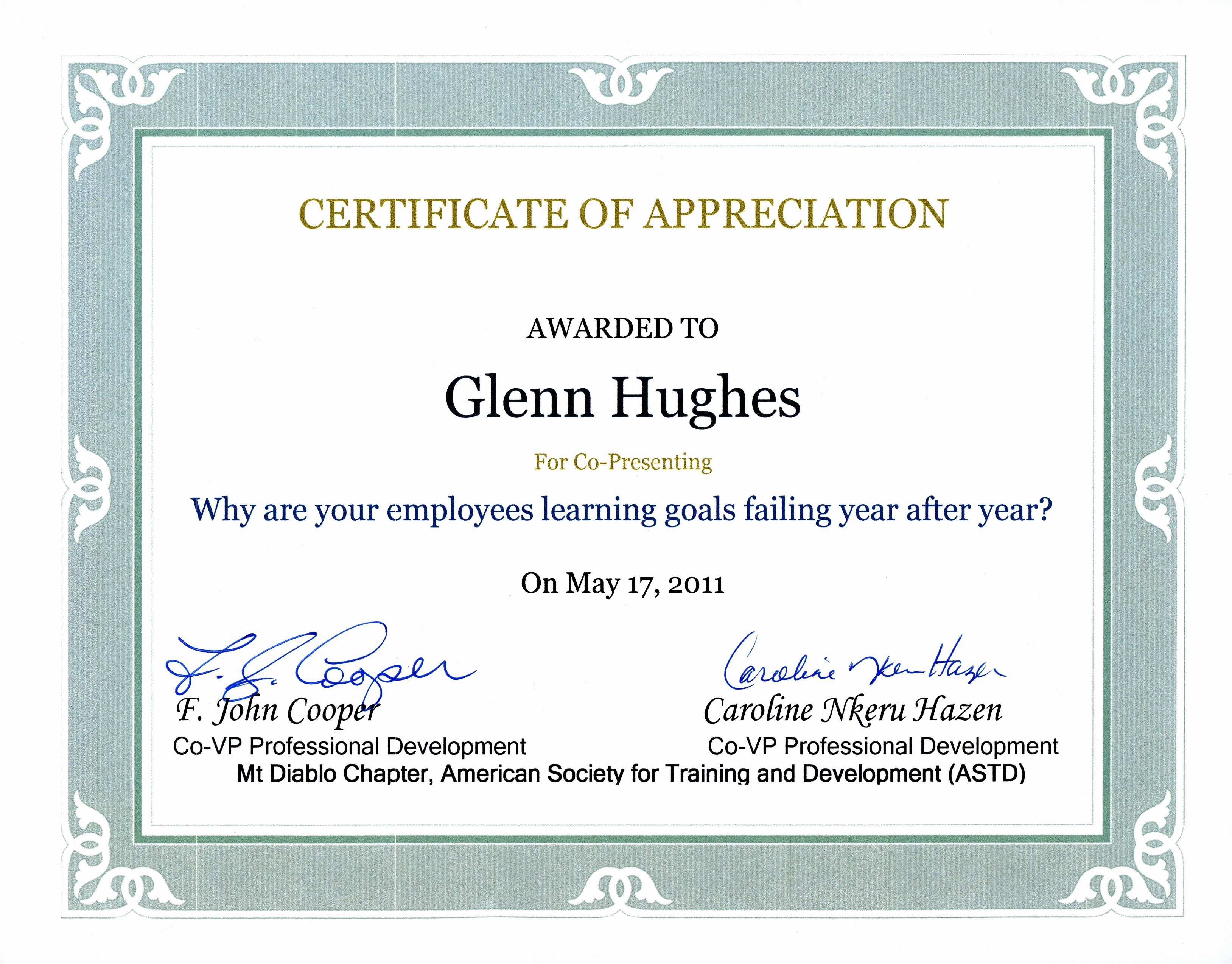 Sample Of Certification Of Appreciation Lovely Appreciation Certificates Wording Portablegasgrillweber
