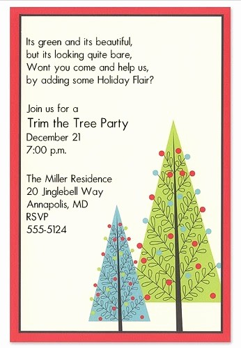 Sample Of Christmas Party Invitation Awesome Noted