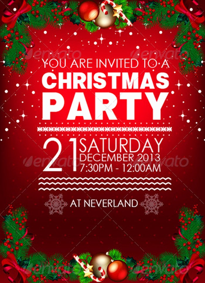 Sample Of Christmas Party Invitation Beautiful Sample Invitation Card for Christmas Party – Fun for