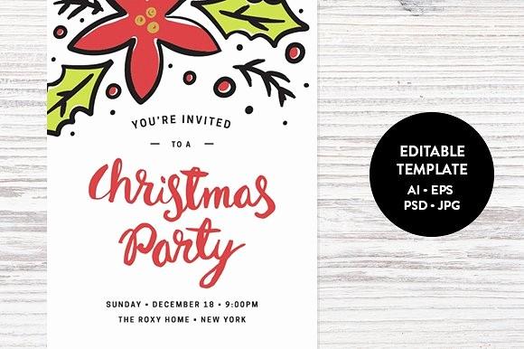 Sample Of Christmas Party Invitation Fresh Christmas Party Invitation Template Invitation Templates