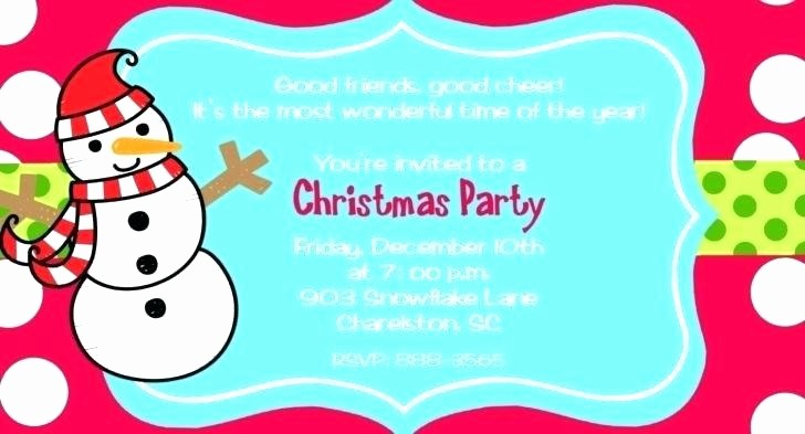 Sample Of Christmas Party Invitation Inspirational Magnificent Party Invitations Templates Holiday Invitation