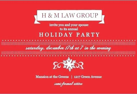 Sample Of Christmas Party Invitation Inspirational Pany Christmas Party Invitation Letter Sample Corporate