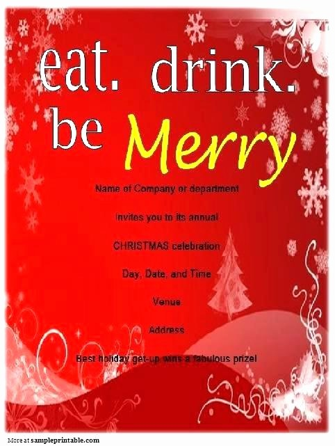 Sample Of Christmas Party Invitation Inspirational Work Party Invitation Wording Printable Fice Examples