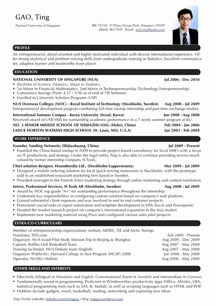 Sample Of Curriculum Vitae format Unique Resume Pilot Cv Example Free Resume Cv Example