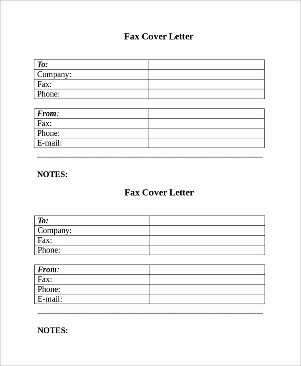 Sample Of Fax Cover Letter Best Of 8 Sample Fax Cover Letters – Pdf Word
