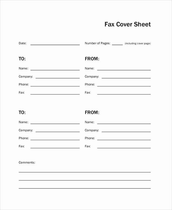 Sample Of Fax Cover Page Best Of 8 Sample Fax Cover Pages