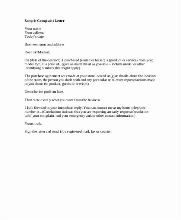 Sample Of formal Business Letter Elegant 7 formal Business Letter Examples