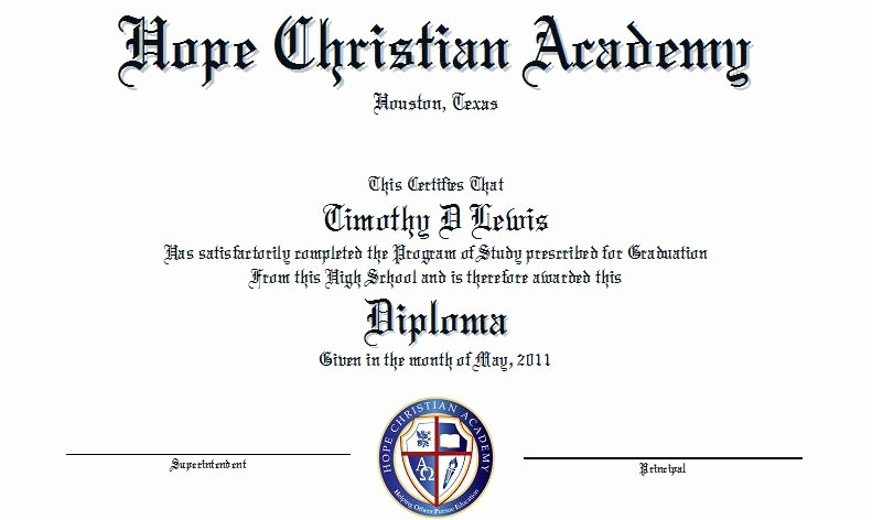 Sample Of High School Diploma Beautiful High School Diploma Sample to Pin On Pinterest