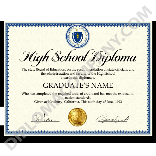 Sample Of High School Diploma Elegant Fake Usa High School Diploma