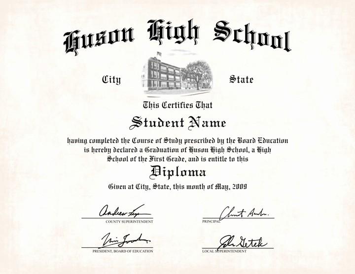 Sample Of High School Diploma Elegant Us High School Diploma Style 7