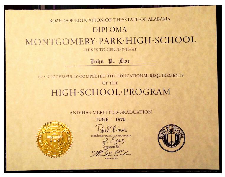 Sample Of High School Diploma Fresh Fake High School Diplomas and Certificates